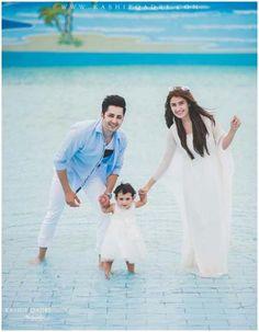 "Daughter of Ayeza Khan & Danish Taimoor ""Hoorain"" Birthday Pictures - Stylespk Pakistani Actress, Bollywood Actress, Romantic Couples, Cute Couples, Pakistan Wedding, Girls Status, Ayeza Khan, Muslim Couples, Muslim Family"