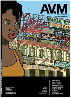 AV.MGZ Nº3 / La pasión por la creatividad, la cultura y el arte audiovisual.  ABR.MAY.JUN 2012  PORTADA: Javier Mariscal.