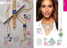 """Steele Magnolias Collection: Get out of a winter rut and into a sweet spring palette with this mint-colored collection. Genuine silver-plated. Necklace, 18"""" L with 3 1/2"""" extender. Pierced studs. 
