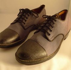 wartime canadian men's shoe on etsy in canvas and leather