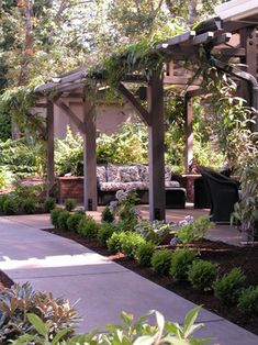 Beautiful outdoor space by Stangeland and Associates