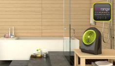 OBLO' 2.2: termoventilatore ad aghi da 2.200 W, con elegante verniciatura opaca. Omologato IP21 per garantire sicurezza contro gocciolamenti verticali d'acqua e per permetterne l'utilizzo anche in bagno. Dotato di vano per alloggiamento cavo interno alla macchina. Design 100% Italiano by Dario Tanfoglio.