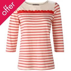 A slight nautical theme with the Komodo Organic Stripe Hulo Top :) chosen by @Fritha Tigerlilly
