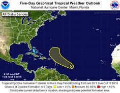 October 6, 2015 Atlantic 5-Day Graphical Tropical Weather Outlook