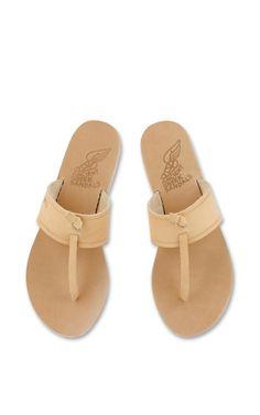monogram sandals