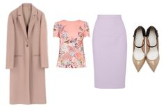 Happy Wear to Work Wednesday! If this week's Fashion at Work inspiration looks a lot like this one I wore last year, it's because it does…lol. Blush and pastel colors are a bit of an obsession of mine