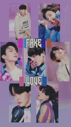 Fake love by bts K Pop, Bts Bg, Bts Wallpapers, Namjoon, Taehyung, Fake Love, About Bts, Bulletproof Boy Scouts, Bts Edits