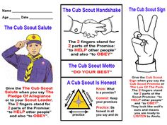 Adorable image with regard to cub scout motto in sign language printable