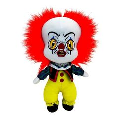 1990s Pennywise plushie planned by Factory Entertainment!  #itmovie #itmovie2017 #pennywise #plushie
