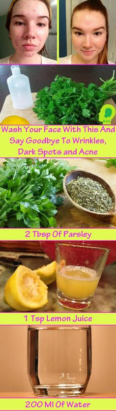 Wash Your Face With And Say Goodbye To Wrinkles, Dard Spots And Acne