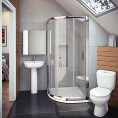 Cove En Suite Bathroom Suite inc Quadrant Enclosure