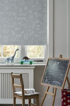 Origami animals in all shapes and sizes combine to create this stylish fabric. While designed with children in mind, it would also look great in grown-up spaces too. House Design, Childrens Blinds, Childrens Bedrooms, Blinds, Inspiration, Home, Nursery Blinds, Denim Drift, Home Decor