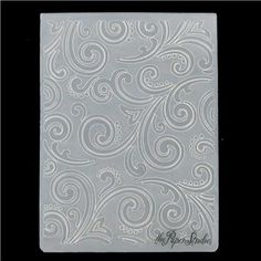 the Paper Studio A2 Intricate Swirl Embossing Folder | Shop Hobby Lobby