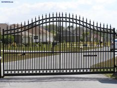 Call #StanleyFencing Today www.stanleyfence.com East TN  Aluminum Estate Gate
