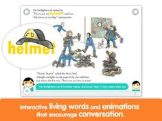 Curious George and the Firefighters by i Read With on the App Store Curious George Games, Early Reading, Best Apps, 5 Year Olds, Old Boys, Boy Or Girl, Firefighters, Animation, Comics