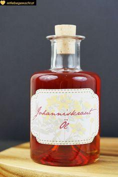 Johanniskrautöl oder Rotöl - natürliche Kosmetik selbst gemacht