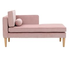 Chaise longue Mad - rosa