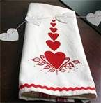 vintage tea towels with hearts - Bing Images