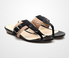 Voni Sandals by ReInStage ReInStateVoni. This sandals with accompanied your holiday. The braid details with different color will make your look more comfy and chic. Partnered this sandal with printed sunny dress. http://www.zocko.com/z/JEp48