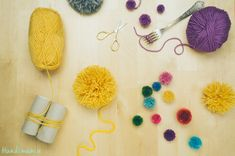 2 Incredible Ways to Make Yarn Pom Poms http://www.handimania.com/diy/2-incredible-ways-to-make-yarn-pom-poms.html