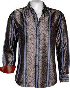 Viola Limited Edition, RF101024, Fall 2010 Cool Shirts, Casual Shirts, Normal People, Robert Graham, Long Shorts, Dress Shirts, Men Dress, Style Me, Shirt Designs