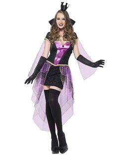 Sexy Königin Damenkostüm Märchen schwarz-lila , günstige Faschings  Kostüme bei Karneval Megastore, der größte Karneval und Faschings Kostüm- und Partyartikel Online Shop Europas!