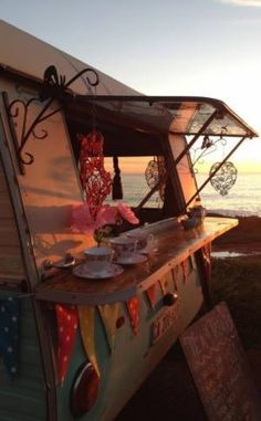 caravans and sunsets...