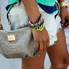 Marc Jacobs. Bracelets. Love all of this