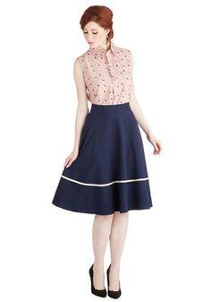 юбка в романтическом стиле