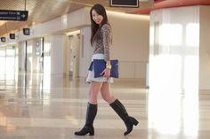 GiGi New York Uber clutch : Connie Tang Fashion Blog