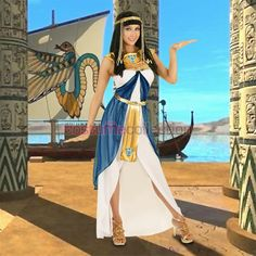 Adult Cleopatra Outfit Egyptian Party Costume