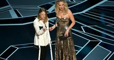 Why Jodie Foster Was Really on Crutches During the Oscars -- The reason for Jodie Foster's suspicious crutches during last night's Academy Awards telecast has been explained. -- http://movieweb.com/oscars-2018-jodie-foster-crutches-explained/