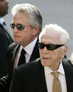 Michael & Kirk Douglas...Father & Son