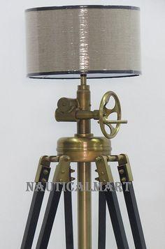Royal Marine Tripod Floor Lamp | Royal marines, Tripod and Floor lamp