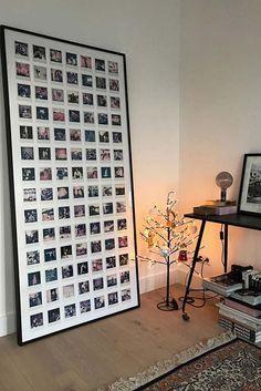 Polaroid Pictures Display, Polaroid Display, Polaroid Wall, Study Room Decor, Room Decor Bedroom, Diy Wall Decor, Diy Home Decor, Polaroid Decoration, Pinterest Room Decor
