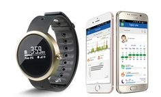 Track your activity and stay on top of notifications, calls, and messages with this smart watched paired to your Android or iOs smartphone