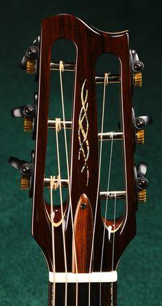 Hatcher Greta - Black Walnut / Old Growth Western Red Cedar - Page 10 - The Acoustic Guitar Forum Unique Guitars, Custom Guitars, Fender Squire, Guitar Inlay, Recording Studio Design, Cigar Box Guitar, Guitar Building, Guitar Parts, Fender Stratocaster