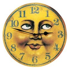 Man-in-the-Moon Wall Clock.