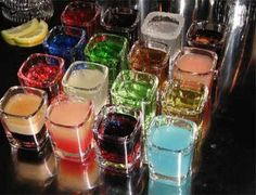 Shot Recipes... never know when i might need this