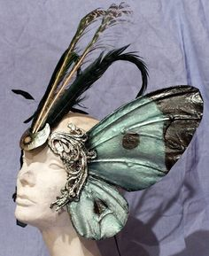 Headdresses Pagan Wicca Witch: Butterfly #headdress.
