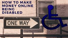 How To Make Money Online Disabled