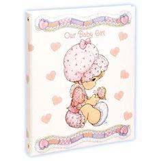 Precious Moments Baby Keepsake Girl Book PMC3042