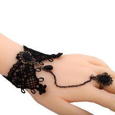 Amybria Jewelry Steampunk Gothic Lace Slave Bracelet With Ring Wicca Witch Pagan Goth Punk Amybria http://www.amazon.co.uk/dp/B00IE41JBI/ref=cm_sw_r_pi_dp_eUO3tb031MS14BRP