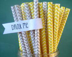 Popular items for gray straws on Etsy