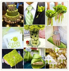 lime and gold