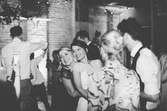 Wedding Reception - Brixton East 1871 Contemporary Wedding | Image by Deborah…