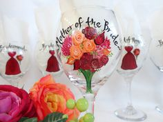 Hand Painted PERSONALIZED To Your WEDDING FLOWERS by SAM Designs @ www.samdesigns.net, $24.00