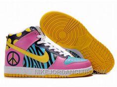 http://www.nikejordanclub.com/womens-nike-dunk-high-shoes-blue-pink-black-white-yellow-for-sale.html WOMEN'S NIKE DUNK HIGH SHOES BLUE/PINK/BLACK/WHITE/YELLOW FOR SALE Only $99.13 , Free Shipping!