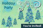 Christmas Tree Invite #Holiday #Party #Ideas #DIY #Printable #cards