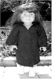 Free Doll Patterns (Christmas Stocking) from My Mom Knits Doll Patterns